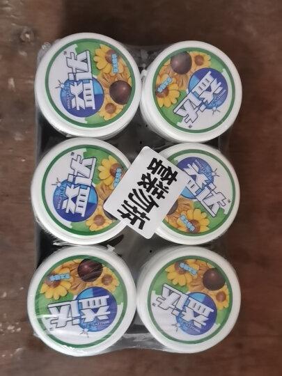益达(Extra)木糖醇无糖口香糖冰柠约40粒56g*6瓶装办公室休闲零食(新旧包装随机发) 晒单图
