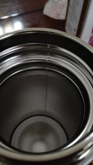 然也(RAE)260ml双层不锈钢保温杯壶泡茶汽车杯子 男女士情侣学生时尚商务车载办公随身水杯 白色R3061 晒单图