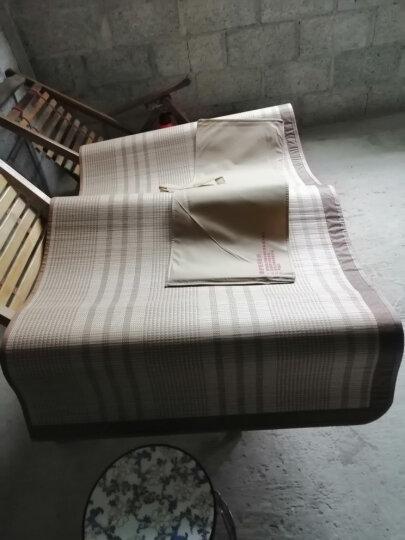 百富帝(byford)凉席竹席 双面折叠双人竹藤席子碳化清凉竹席1.5米 清凉席(不含枕套) 晒单图