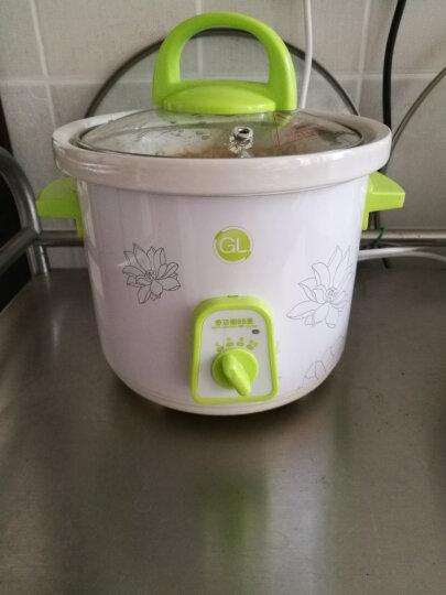 格朗GL 婴儿辅食机 bb煲婴儿煮粥锅陶瓷内胆电饭锅/电饭煲尚品YY-2(1.0L) 晒单图