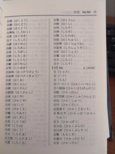 日语汉字读音速查词典 晒单图