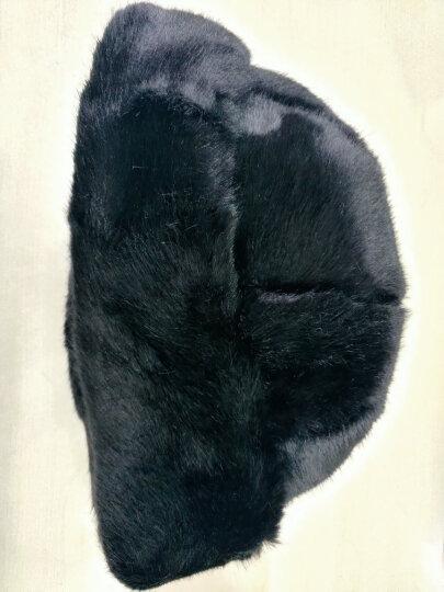安振毅 中老年帽子女冬季老太太帽子老人帽子男加厚保暖棉爸爸爷爷老头帽地主帽王爷帽围巾套装 总统帽黑色【帽子+围巾】 晒单图