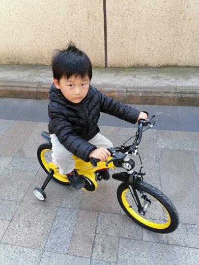 健儿(jianer) 儿童自行车男女小孩单车【可加长】 圣湖蓝【镁合金  后轮碟刹】16寸 晒单图