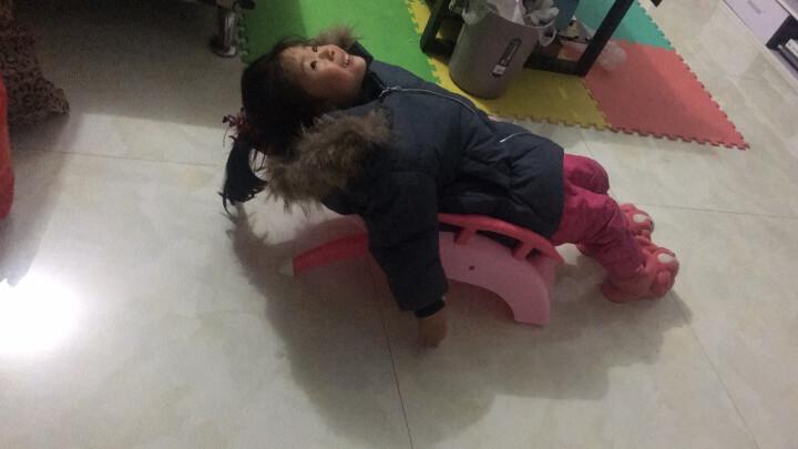 序言(XUYAN) 儿童洗头椅洗头床宝宝洗头躺椅加大加厚 樱糖粉 洗头椅+小象折叠脸盆+洗头刷 晒单图