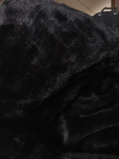 苏子 帽子男女士冬季雷锋帽冬天东北户外防寒骑车帽 滑雪帽防风冬帽 带护脖黑色 晒单图