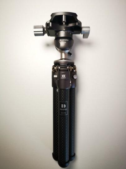 百诺(Benro)三脚架 C1690TB0 单反三脚架 碳纤维 反折 佳能尼康单反相机三角架云台 晒单图