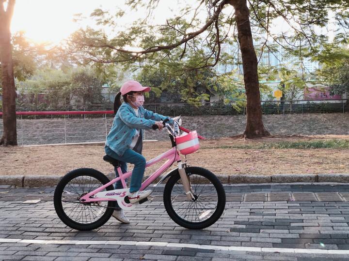优贝儿童自行车14寸16寸20寸18寸男女童表演车小孩单车宝宝童车 粉色 20寸 晒单图