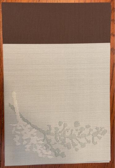 宝优妮餐垫隔热垫PVC硅胶大号儿童学生日式西餐垫家用餐具垫耐高温方形防烫碗垫餐桌垫 晒单图