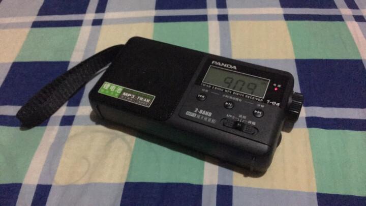 熊猫(PANDA)6200 迷你FM插卡收音机 MP3播放器 迷你小音响(白色) 晒单图