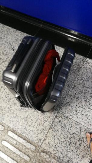 法国大使牌(Delsey)商务拉杆箱20英寸PC旅行箱可扩容行李箱前置仓密码箱男女万向轮银灰色073 晒单图