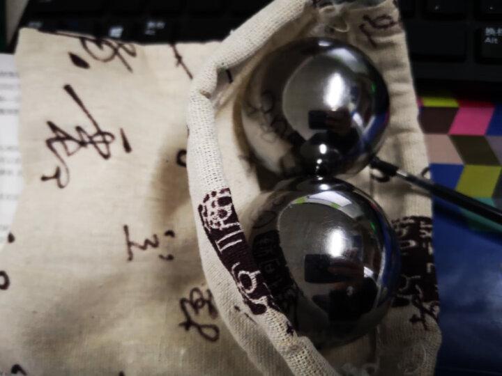 握康保定铁球实心健身钢球健身球手球保健球训练锻炼握球把玩球手转球中老年人臂力器腕力器腕力球按摩器 实心钢球70mm一对重2800克 晒单图