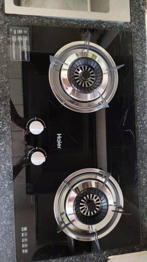 海尔(Haier)燃气灶 一级能效 嵌入式 双灶 家用 煤气灶具 JZT-QE636B(天然气) 晒单图