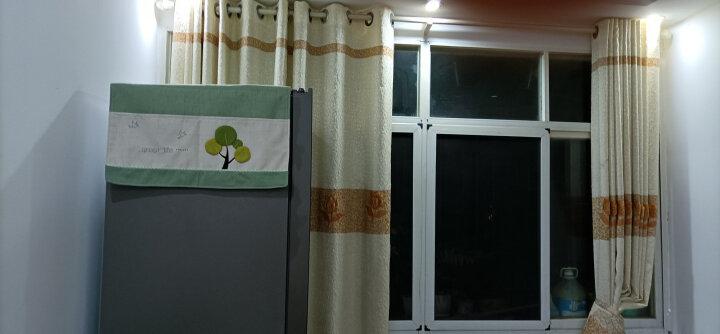 欣伊 布艺拼布冰箱罩带收纳袋双开门冰箱巾盖巾盖布 对开门防尘罩 郁金香 左右对开门(177*67Cm ) 晒单图