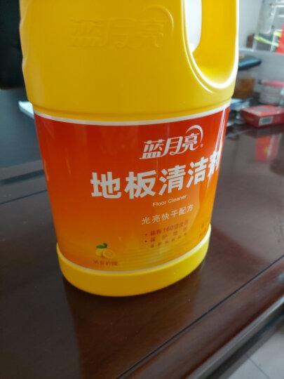 蓝月亮 地板清洁剂 2kg/瓶 柠檬香不刺鼻 去污除菌 木地板瓷砖大理石等多场景适用 地板净 拖地水 晒单图
