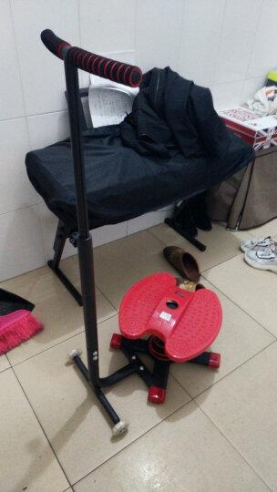 狂迷(kuangmi) 扭腰机大号跳跳瘦美腰机多功能踏步机迷你家用广场跳舞机运动器械瘦身健 红色 晒单图