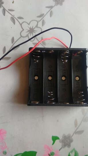 倍量 4槽带线电池盒 可连接4节5号/7号 带导线电池盒 DIY模型制作电池槽 串联电池盒 晒单图