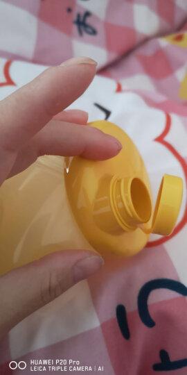 贝亲(Pigeon) 贝亲便携式奶粉盒 两用婴儿大容量三格层宝宝储存盒 外出分零食盒 清新绿 晒单图