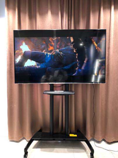 NB CF100电视移动推车电视机移动支架电视架子落地康佳皓丽希沃鸿合商用触摸显示屏一体机挂架(60-100英寸)黑 晒单图