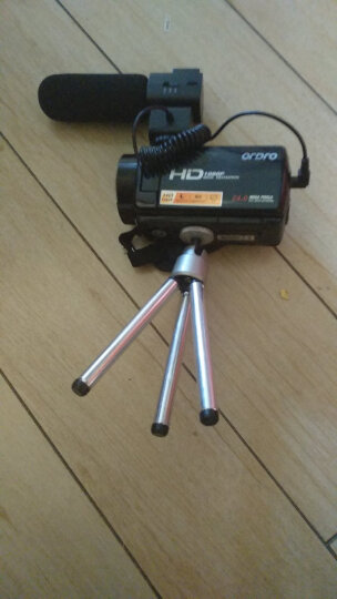 进口欧达升级V7摄像机高清专业数码dv一体机旅游家用2400万全镜像素红外夜摄16倍变焦增强6轴防抖 京东送货+32G卡+电池+三脚架+广角增距 大礼包 晒单图