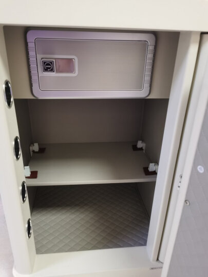 得力(deli)保险柜 高45cm全钢防盗保管柜 办公家用密码保险保管箱 瑞锦33076 晒单图