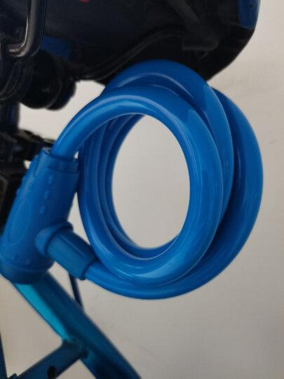 库阿森(KINGSIR)自行车锁防盗锁山地车锁链条锁电瓶电动车锁单车自行车配件骑行装备 130锁 1.8米黑(升级超B级锁芯+送锁架) 晒单图