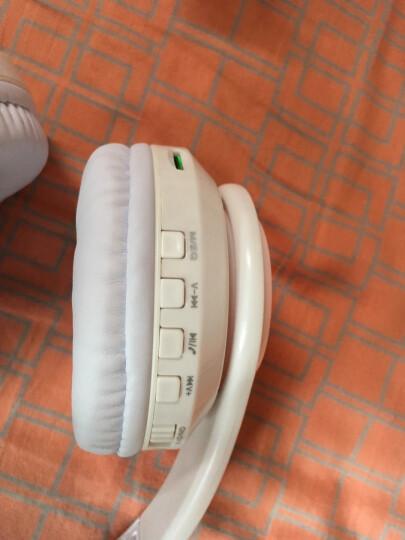 奇联 BH3耳机头戴式蓝牙无线降噪重低音运动游戏手机电脑通用耳麦 纯白色 晒单图