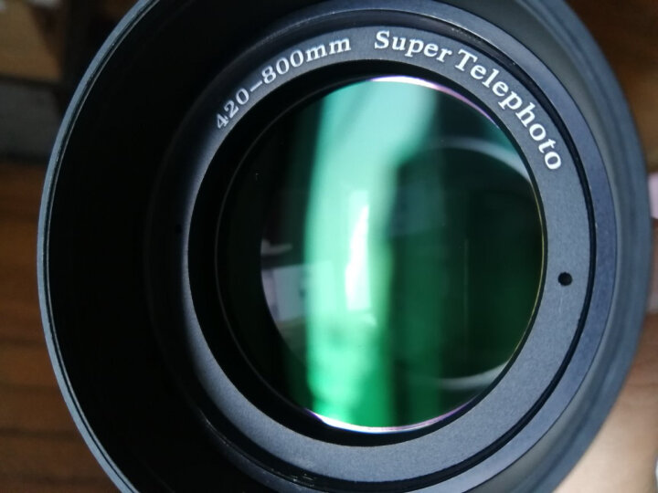 嘉蕊(JARAY)420-800mm/8.3全画幅超远摄变焦/长焦镜头/拍鸟拍月荷花手动单反相机镜头 套餐一 索尼A口 晒单图