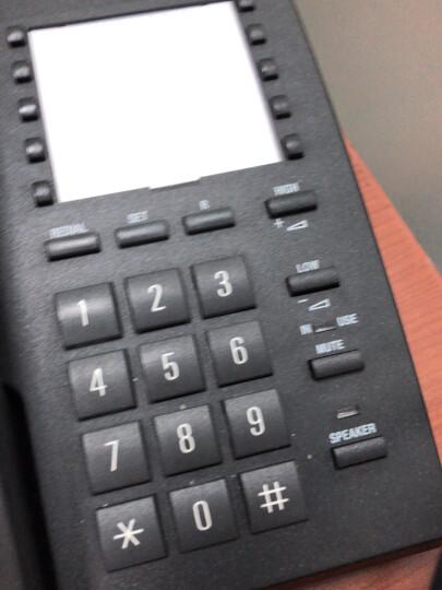 集怡嘉(Gigaset)原西门子品牌 电话机座机 固定电话 办公家用 快捷拨号 通话静音 812淡灰 晒单图