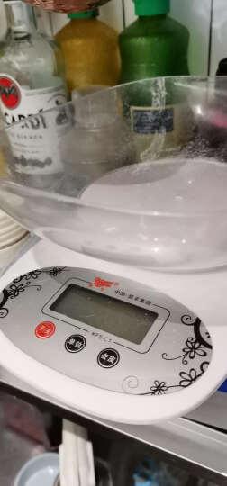 凯丰 电子称厨房秤 烘焙电子秤0.1g高精度天平秤 珠宝秤迷你克称精准台秤克秤 食物食品称 【英文版】5kg/1g无托盘 晒单图