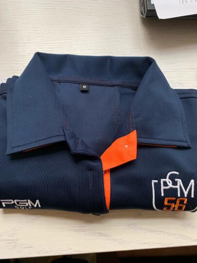 PGM 高尔夫服装 女士长袖T恤 秋冬衣服 韩版女装球服 白色 L码 晒单图