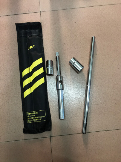 立牌TL-0002汽车轮胎扳手拆轮胎汽修工具 维修换胎扳手十字省力拆卸套筒 赠品-立牌收纳包 晒单图