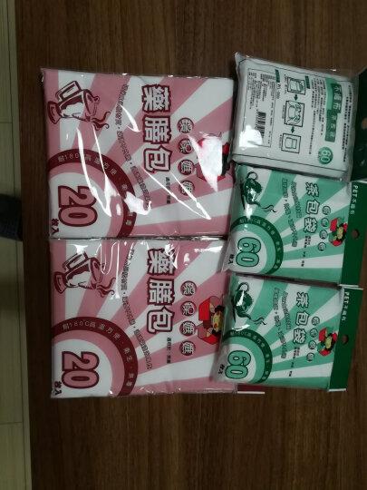 环保妈妈 906反折茶包10cm*7cm无纺布袋泡茶袋/茶叶袋60枚装卤味包药包袋 3包180枚装 晒单图