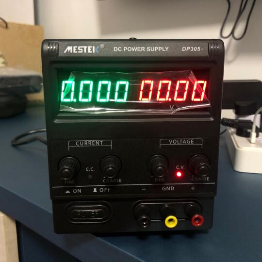 迈斯泰克(MESTEK)可调直流稳压电源30V5A10A高精度电源 笔记本手机维修电源 DP152(线性15V2A) 晒单图