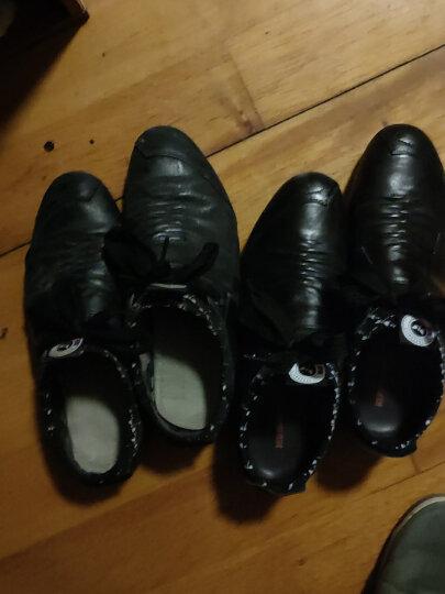 红蜻蜓男鞋子休闲皮鞋男士春季新品棉鞋韩版潮流青年 黑色内增高6CM 39 偏大一码 晒单图
