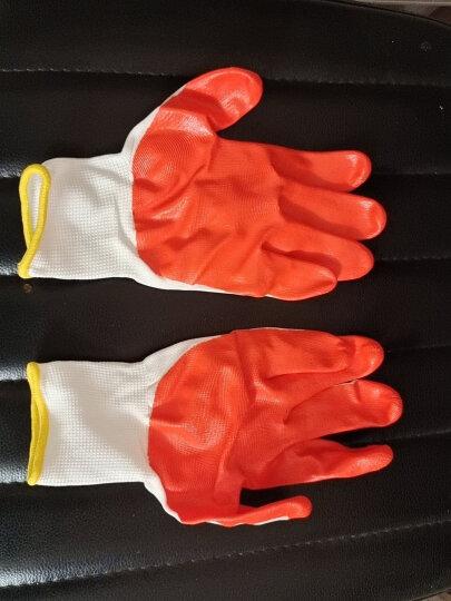 霍尼韦尔(Honeywell) 劳保手套 10副/包丁腈橡胶工作手套 掌浸防滑耐油耐磨机械防护手套JN230 9码靖系列 晒单图