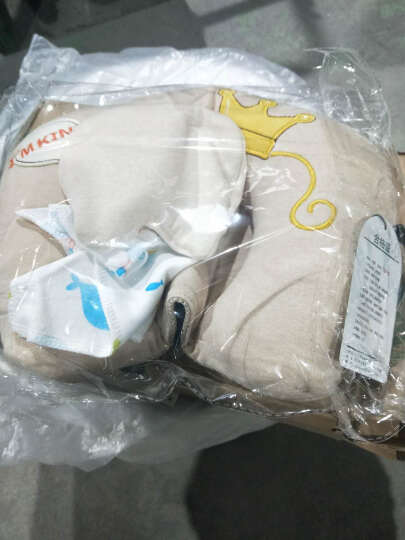 双漫婴儿枕头定型枕防偏头宝宝新生儿定型枕头纠正偏头 小牛款 双枕套(换洗款) 晒单图
