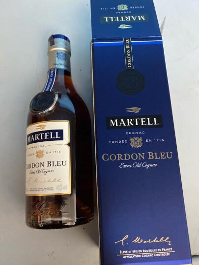 马爹利(Martell)洋酒 蓝带XO级 干邑 白兰地 350ml 法国原装进口烈酒 晒单图
