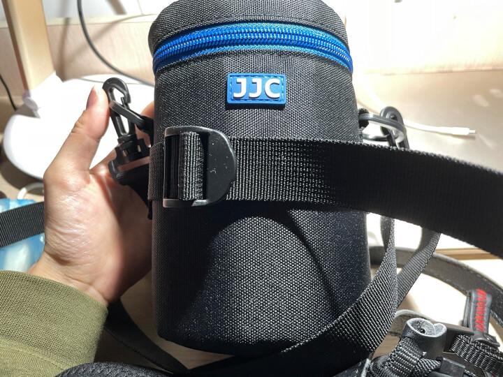 JJC 镜头包 适用尼康佳能单反相机索尼富士宾得适马腾龙长焦镜头筒腰包保护镜头套加厚防水摄影收纳袋 DLP-4 适用24-70mm 24-105mm 晒单图