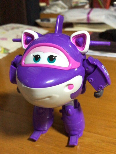 奥迪双钻(AULDEY)超级飞侠益智玩具大变形机器人-胡须爷爷 儿童玩具男女孩生日礼物 710260 晒单图