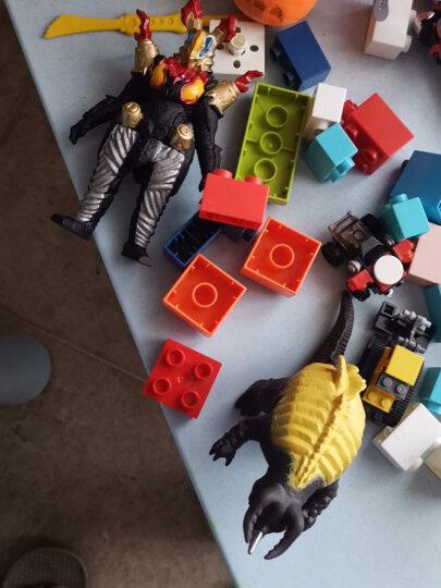 万代 泽塔奥特曼 超决战软胶系列 怪兽对决 男孩玩具 生日礼物 泽塔奥特曼阿尔法装甲超决战内隆嘎69032 晒单图