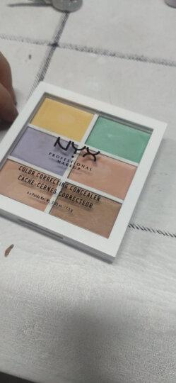 NYX遮瑕六色遮瑕膏盘黑眼圈红血丝高光修容盘 K-T化妆刷 晒单图