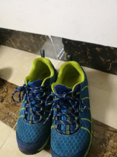 埃尔蒙特ALPINT MOUNTAIN 户外登山徒步鞋低帮男女款越野跑步鞋减震轻便透气耐磨防滑640-808 彩蓝 38 晒单图
