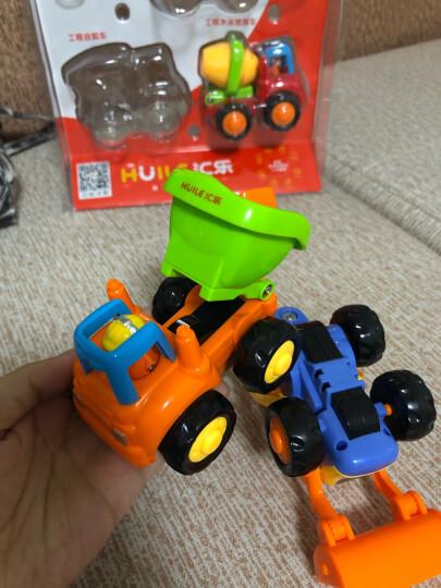 汇乐玩具(HUILE TOYS)DS102  益智玩具 作业车队 汽车模型 儿童惯性车玩具模型耐摔卡通(颜色随机) 晒单图
