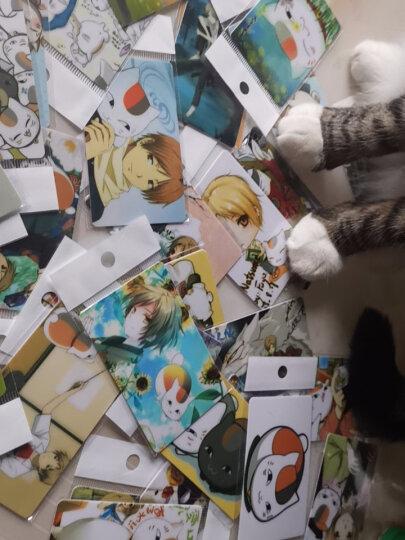 夏目友人帐动漫周边卡贴 猫老师公交卡贴饭卡贴校园卡贴纸 全套50张不重复 晒单图