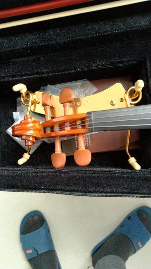 红棉(Kapok)小提琴 V008升级版练习考级手工实木小提琴初学者专业级儿童成人入门小提琴成人 V008初学套餐 标配+谱架+练弓器+弱音器 晒单图