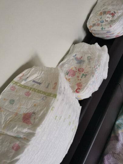 尤妮佳 moony 拉拉裤(男女通用)L56片(9-14kg)大号婴儿拉拉裤畅透增量 晒单图