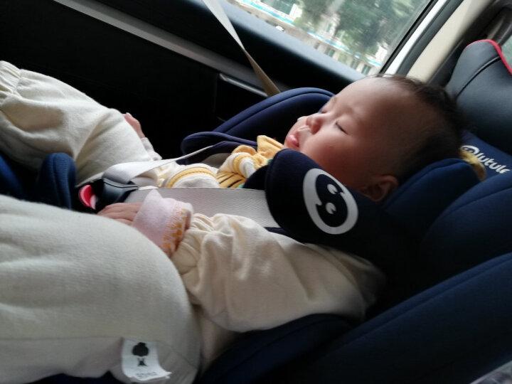 路途乐(Lutule) 汽车儿童安全座椅isofix硬接口 3C/ECE 坐躺可调0-12岁宝宝座椅 Airs系列 旗舰红 晒单图