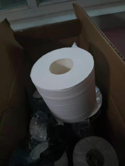 洁柔(C&S)卷纸 黑Face 加厚4层180g卫生纸*23卷(柔软亲肤面子系列一格就够 吸水耐用易降解)整箱销售 晒单图