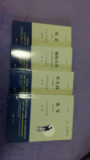 正版 高尔基四部曲 童年在人间我的大学母亲全套正版原著4册自传体全译本初高中小学青少版世界文学名著 晒单图