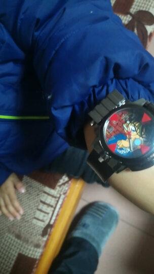 正品柯南手表带红外线手表名侦探石英表麻醉针多功能男孩电子表玩具手表 望远镜手表指南针 高档礼盒款 晒单图